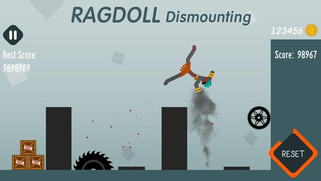 Ragdoll Dismounting screenshot 3
