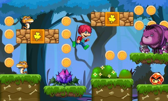 Victo's World - Джунгли приключения - супер мир скриншот 14
