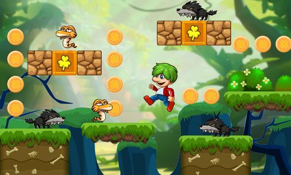 Victo's World - Джунгли приключения - супер мир скриншот 3
