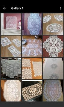 Lace Coffee Table Covers poster