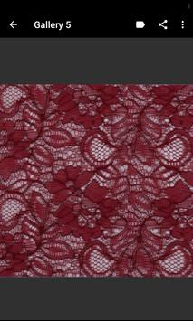 Lace Fabric Samples screenshot 3