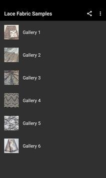 Lace Fabric Samples screenshot 4
