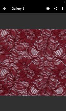 Lace Fabric Samples screenshot 7