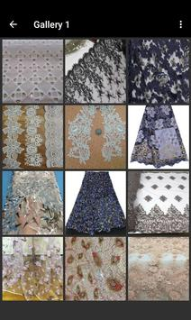 Lace Fabric Samples screenshot 9