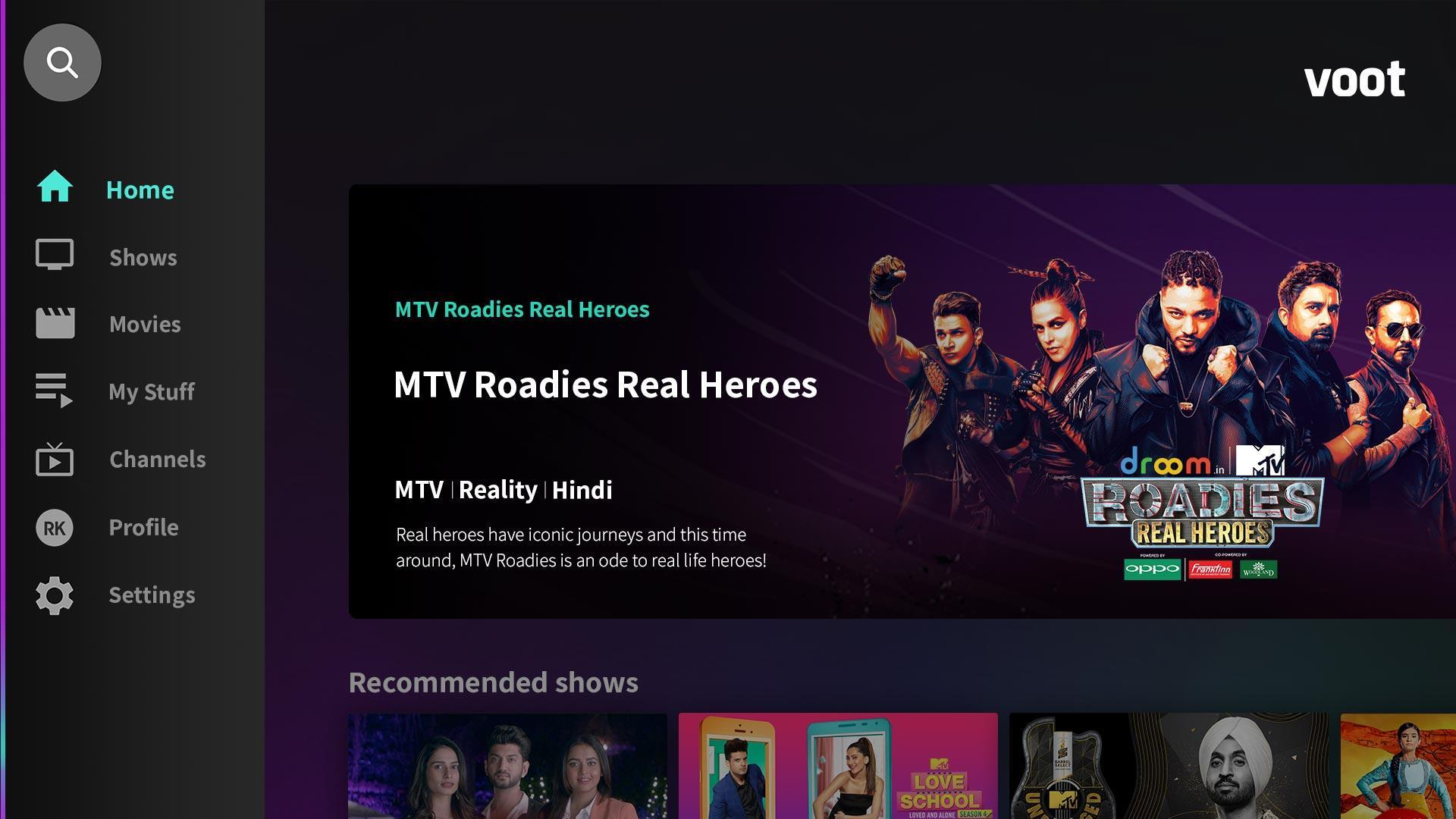 Voot-TV Shows Originals Movies for Android - APK Download