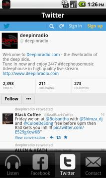 Deepinradio screenshot 2