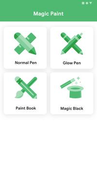 Android Paint & Magic Paint poster