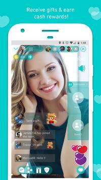 Vibo: прямой эфир,видеочат,Случайный видеозвонок-в скриншот 23