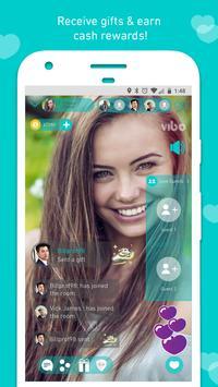 Vibo: прямой эфир,видеочат,Случайный видеозвонок-в скриншот 8