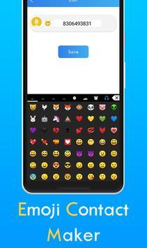 Emoji Contact Editor screenshot 3