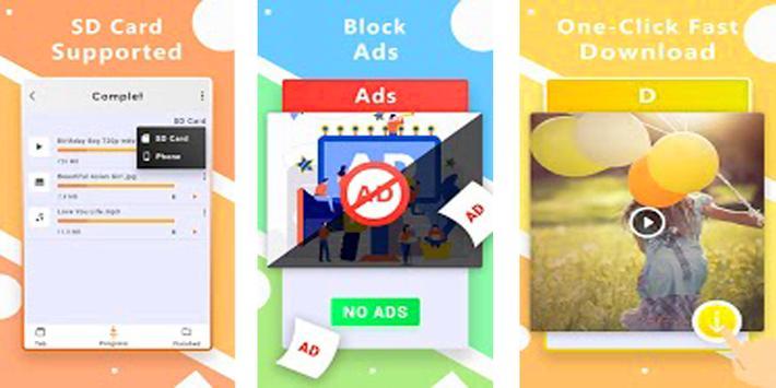 X Video Downloader' 2019 screenshot 1