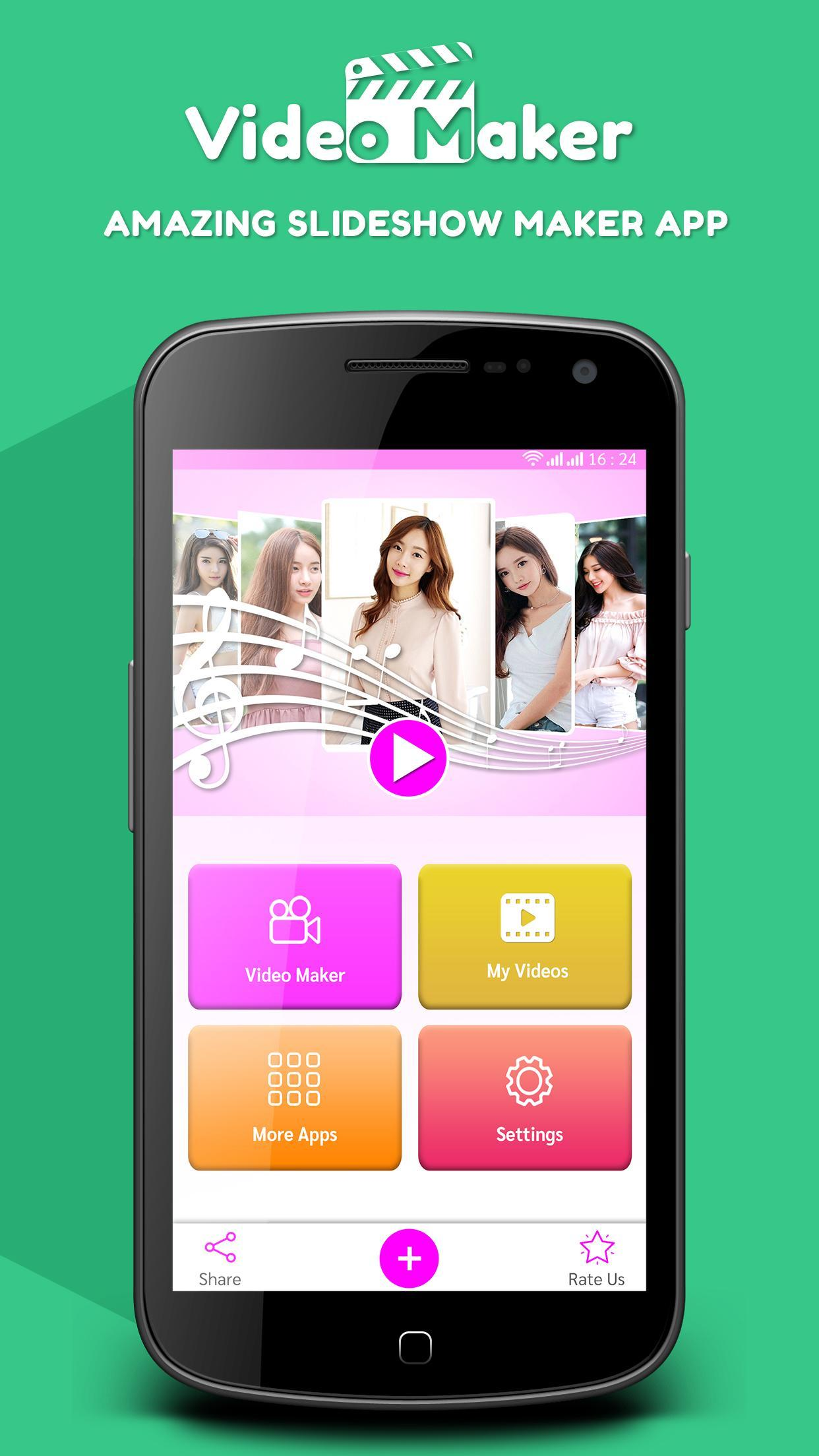 Video Slideshow Maker Create Photo Video Music For Android Apk Download
