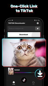 Video Downloader for Tiktok - No Watermark Free screenshot 1