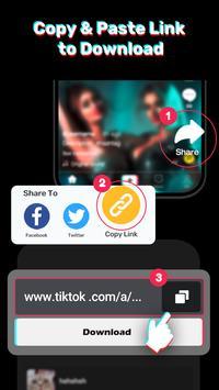 Video Downloader for Tiktok - No Watermark Free screenshot 2