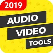 Video Editor, MP3 Converter, Ringtone Maker icon
