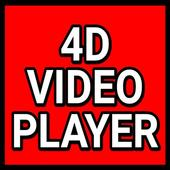 4D Video Player icon
