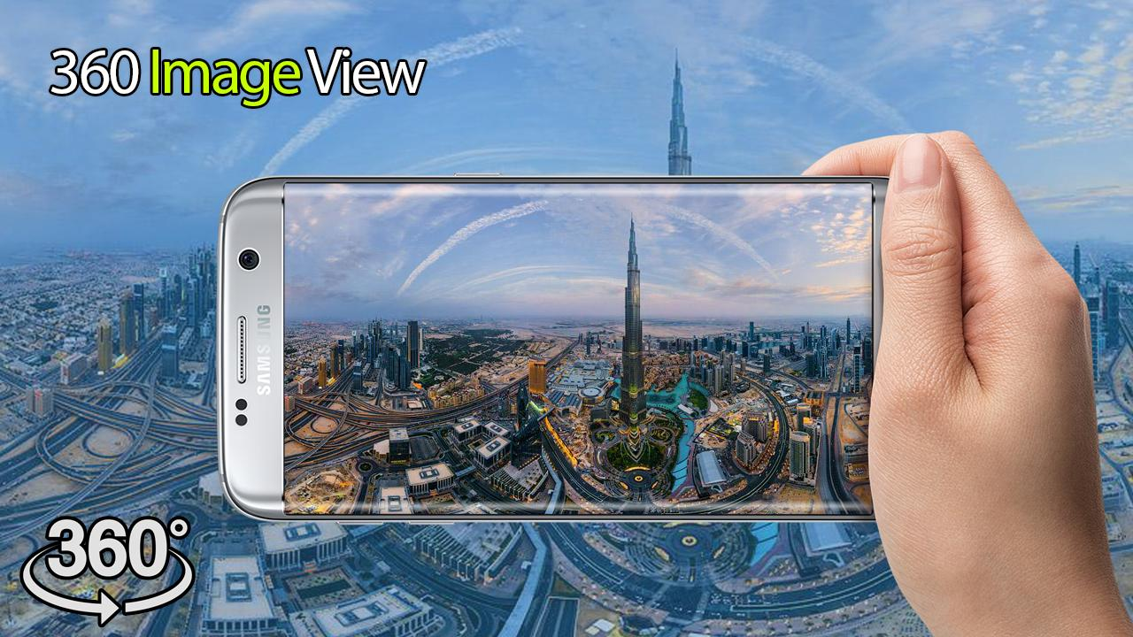 360 degree photos and movies 360 viewing player for Android