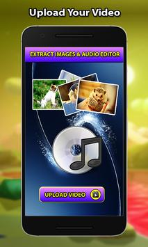 Video to Audio -image extract Plakat