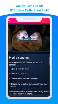 Guide For ToTok HD Video Calls Free 2020 screenshot 4