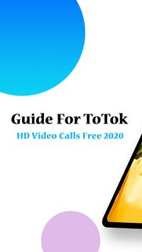 Guide For ToTok HD Video Calls Free 2020 poster