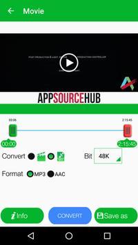 Video to MP3 Converter, RINGTONE Maker, MP3 Cutter screenshot 3