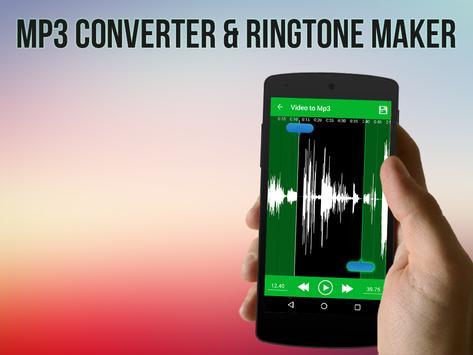 Video to MP3 Converter, RINGTONE Maker, MP3 Cutter screenshot 2