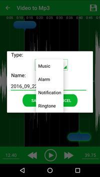 Video to MP3 Converter, RINGTONE Maker, MP3 Cutter screenshot 7