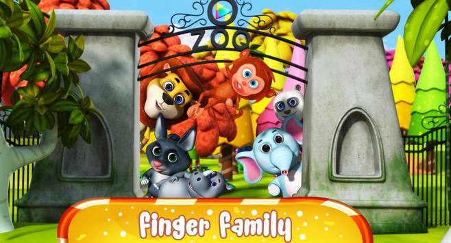 Finger Family Nursery Rhymes and Songs poster