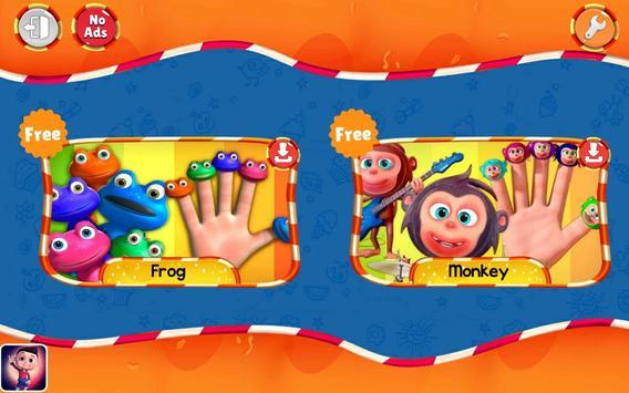 Finger Family Nursery Rhymes and Songs screenshot 4