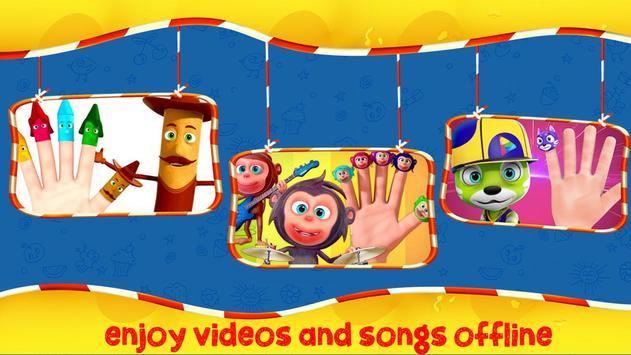 Finger Family Nursery Rhymes and Songs screenshot 5