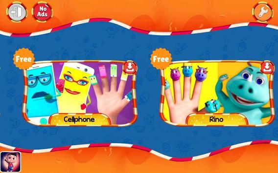 Finger Family Nursery Rhymes and Songs screenshot 8