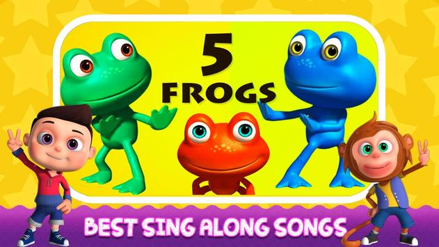English Nursery Rhymes ,Preschool Kids Fun Videos. screenshot 3