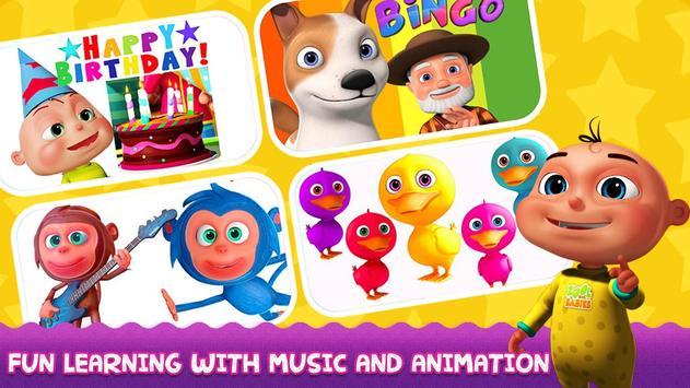 English Nursery Rhymes ,Preschool Kids Fun Videos. poster