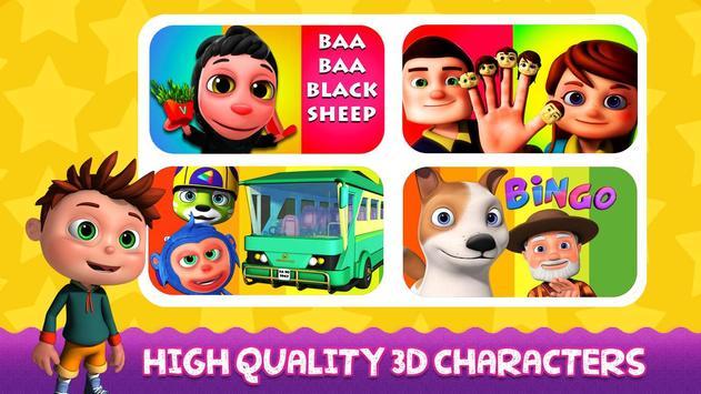 English Nursery Rhymes ,Preschool Kids Fun Videos. screenshot 1