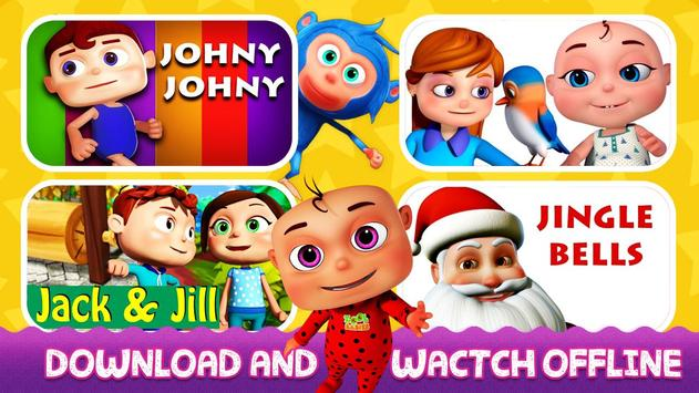 English Nursery Rhymes ,Preschool Kids Fun Videos. screenshot 2