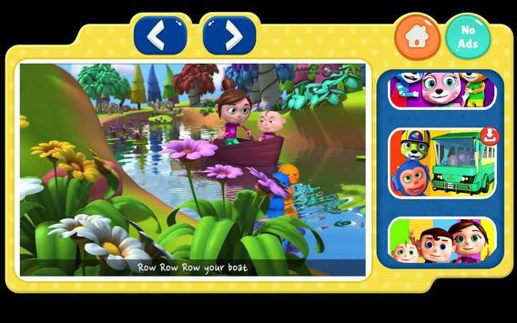 English Nursery Rhymes ,Preschool Kids Fun Videos. screenshot 5