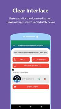 Video Downloader for Twitter screenshot 2