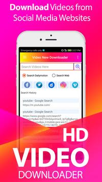 All Video downloader:  Free HD video downloader Cartaz