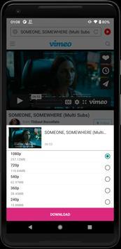 यूनिवर्सल डाउनलोडर - कोई भी वीडियो डाउनलोड करें स्क्रीनशॉट 1