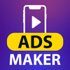 Video Ad Maker: Banner Video Maker & Video Editor Zeichen