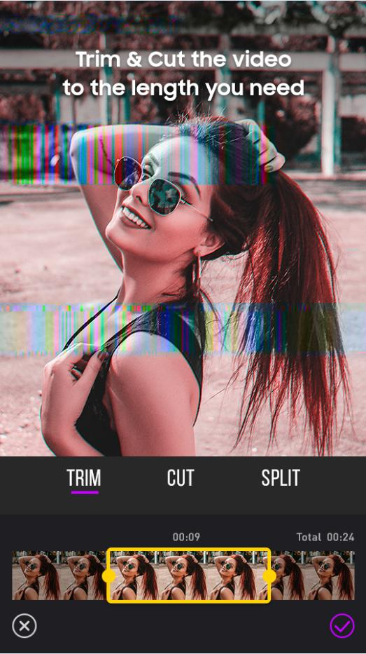 Glitch Star Effect - Video Editor Slow Motion for Android