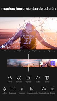 Videoleap - Editor de videos profesional gratis captura de pantalla 2