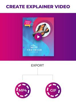 Flyer Maker, Poster Maker For Video Marketing screenshot 13