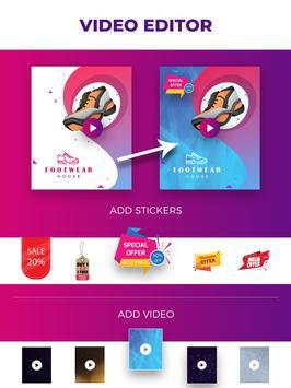 Flyer Maker, Poster Maker For Video Marketing screenshot 9