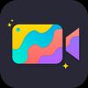 glitch video - video effects ikon