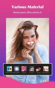 Video Editor & Free Video Maker Filmix with Music screenshot 1