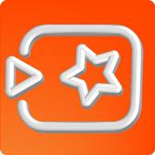 Tiki Tok video maker icon