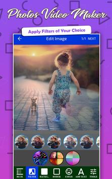 Photos Video Maker Pro with Music & images Editor poster