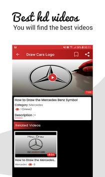 🚗 How To Draw Cars Logo screenshot 3