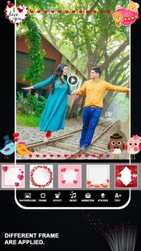 Love Video Maker With Music screenshot 1